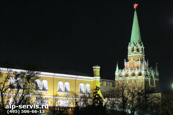 Высотные работы в Москве