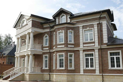 декоративное оформление фасадов